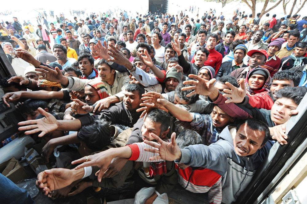 Pe teritoriul Spaniei au pătruns sute de migranți