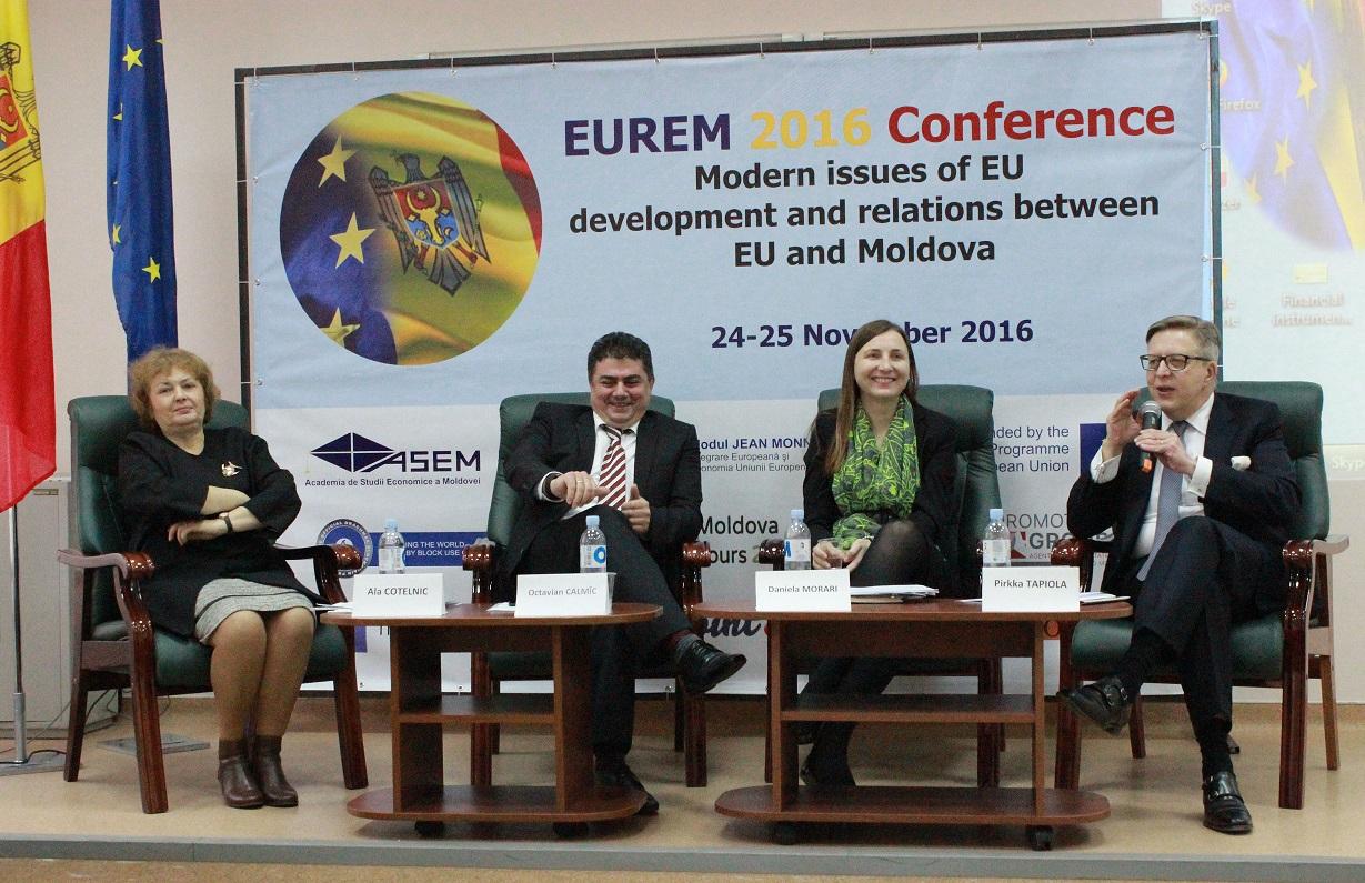 Probleme moderne de dezvoltare ale Uniunii Europene